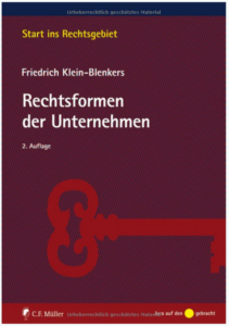 Veroffentlichungen Prof Dr Klein Blenkers